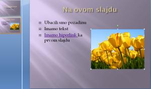 objekti na slajdu